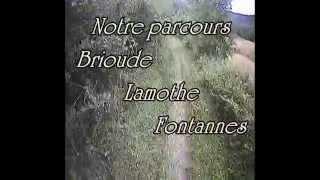 Brioude VTT - htes loire - vallée des dieux