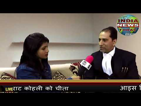 india news today:legal consultant rajni kant with india news today