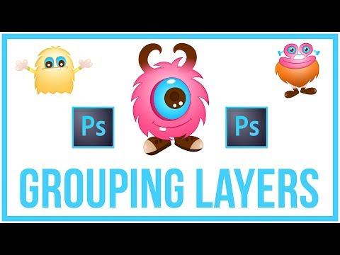 How To Group Layers In Photoshop CC - Full Tutorial