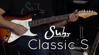 Suhr Classic S demo