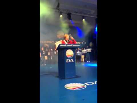 Helen Zille chooses Vulindlela as her swan song at DA congress