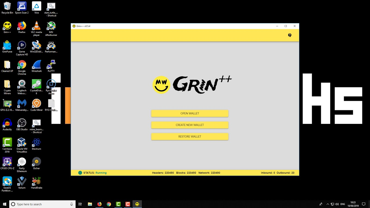 GRIN++ Wallet For Windows