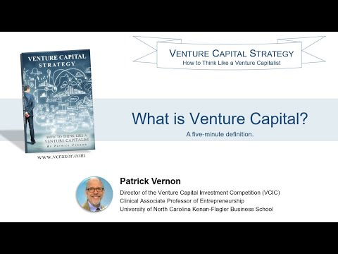 VC Strategy - What is Venture Capital