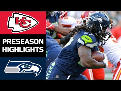 Chiefs vs. Seahawks | NFL Preseason Week 3 Game Highlights