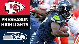 Chiefs vs. Seahawks | NFL Preseason Week 3 Game Highlights