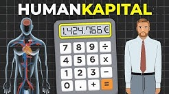 Wieviel bist du Wert? | inkl. Humankapital-Rechner