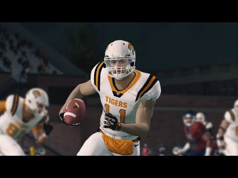 NCAA Football 14 - WR Road To Glory Ep. 3 - High School Playoffs