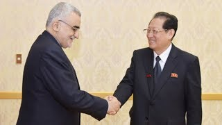 Talks between Chairmen of Friendship Parliamentary Groups of DPRK and Iran