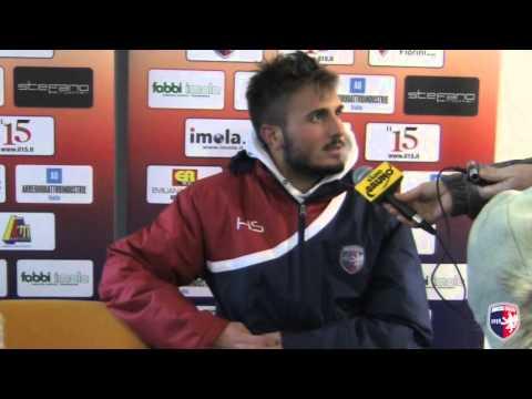 Intervista a Russo, post Imolese - San Marino 3-1