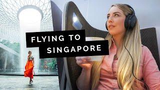 SINGAPORE Travel Guide: SIA Business Class & Jewel | Little Grey Box