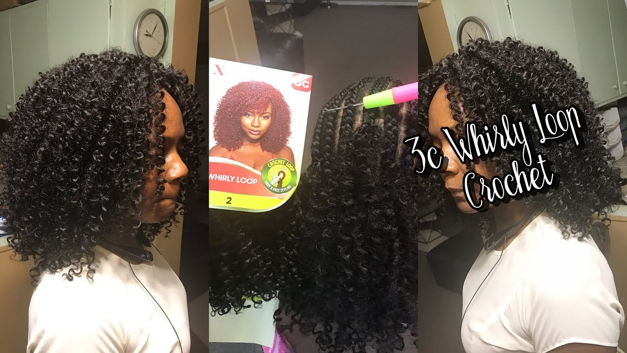 OUTRE EXPRESSION 3C WHIRLY LOOP CURL CROCHET BRAIDS YouTube