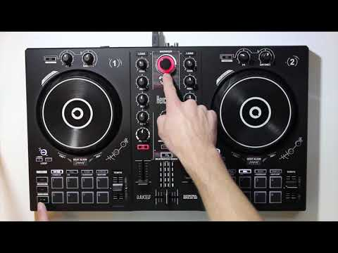 NEW DJ CONTROLLER REVIEW!!! HERCULES DJ CONTROL INPULSE 300