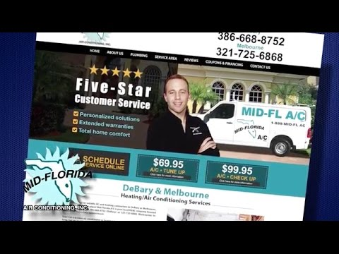 Air Conditioning And Heating Services Mid Florida A C
