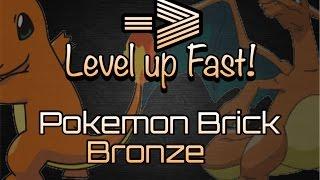 HOW TO LEVEL UP FAST!!   ROBLOX Pokemon brick bronze   Ez Xp