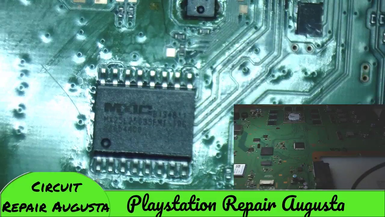 PS4 Constant BLOD (Blue Light Of Death) Fix - Playstation Repair Augusta