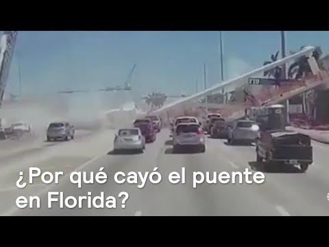 Puente se colapsa en Florida, ¿por qué sucedió? - En Punto con Denise Maerker