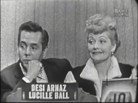 What's My Line? - Lucille Ball & Desi Arnaz (Oct 2, 1955)