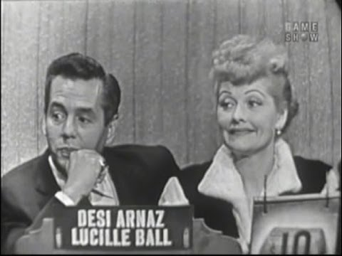 What's My Line?  Lucille Ball & Desi Arnaz Oct 2, 1955
