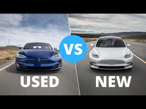 Tesla Model 3 (New) vs Model S (Used) Are Autopilot 2 0, Self
