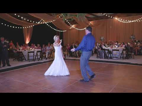 FUN FATHER DAUGHTER WEDDING DANCE - Starts slow....ENDS FAST!!!!