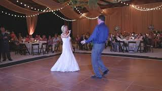 FUN FATHER DAUGHTER WEDDING DANCE  Starts slow....ENDS FAST!!!!