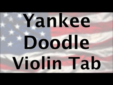 Learn Yankee Doodle on Violin - How to Play Tutorial