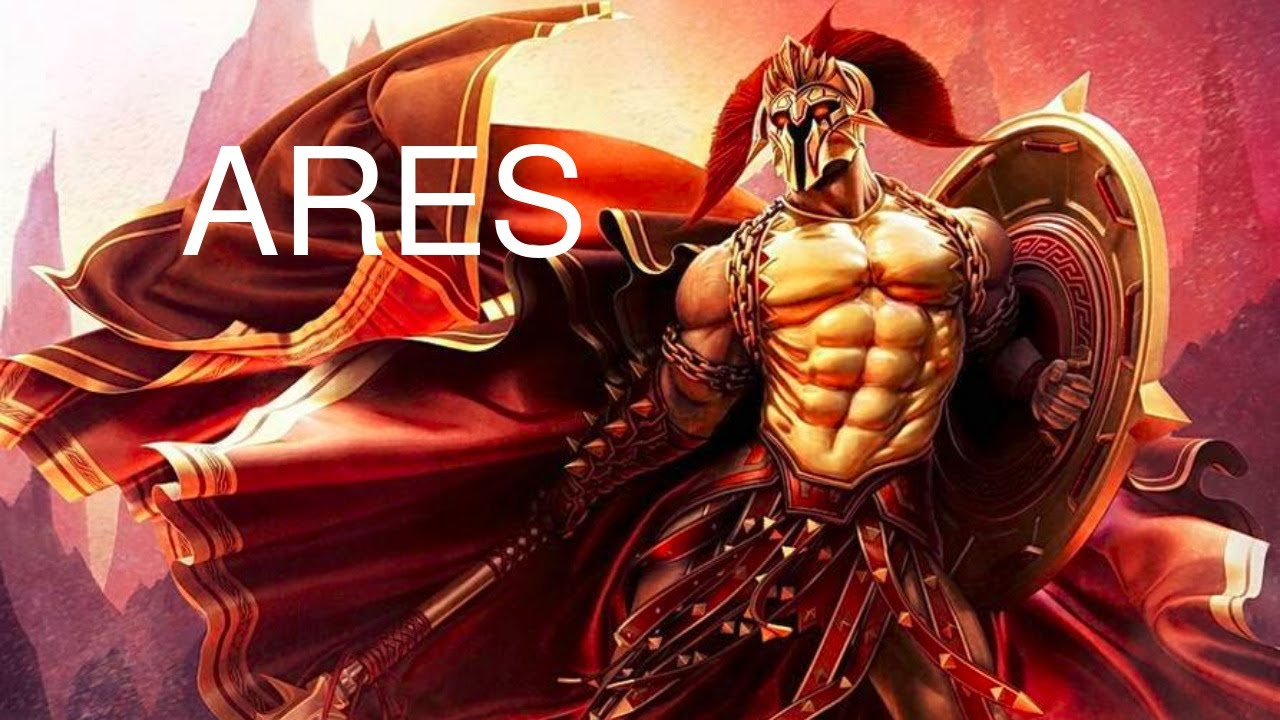 Ares The Greek God Of War Ares Mars Explained Greek Mythology And Folklore