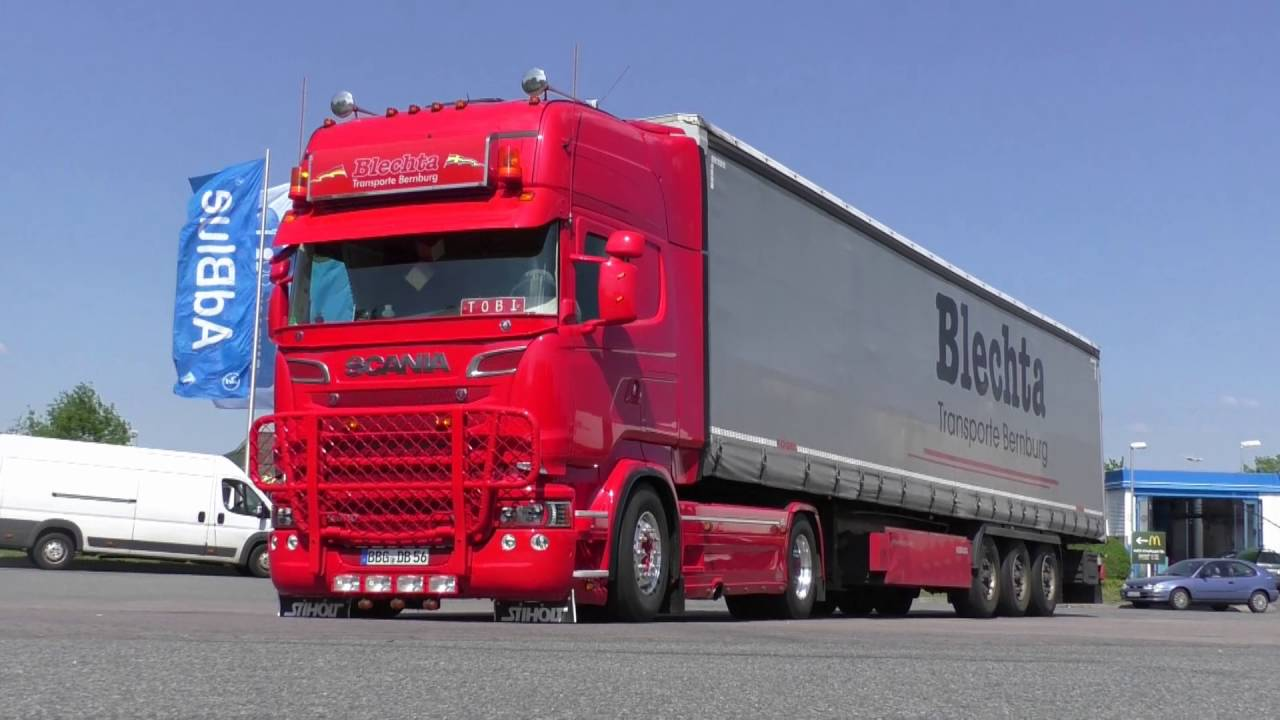 Fabuleux SCANIA R580 V8 Euro 6 - B. T. B. [HD] - YouTube XV78