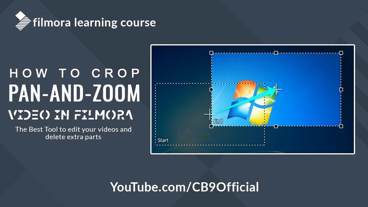 How to Crop, Pan and Zoom video in Filmora Video Editor