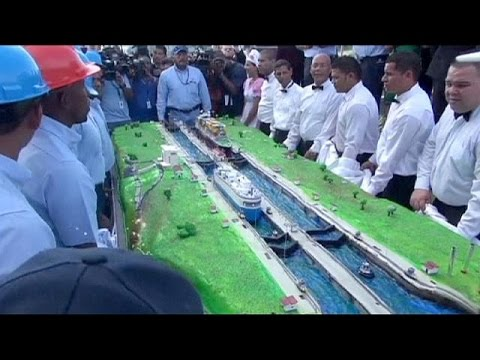 Panama Canal marks century of international trade