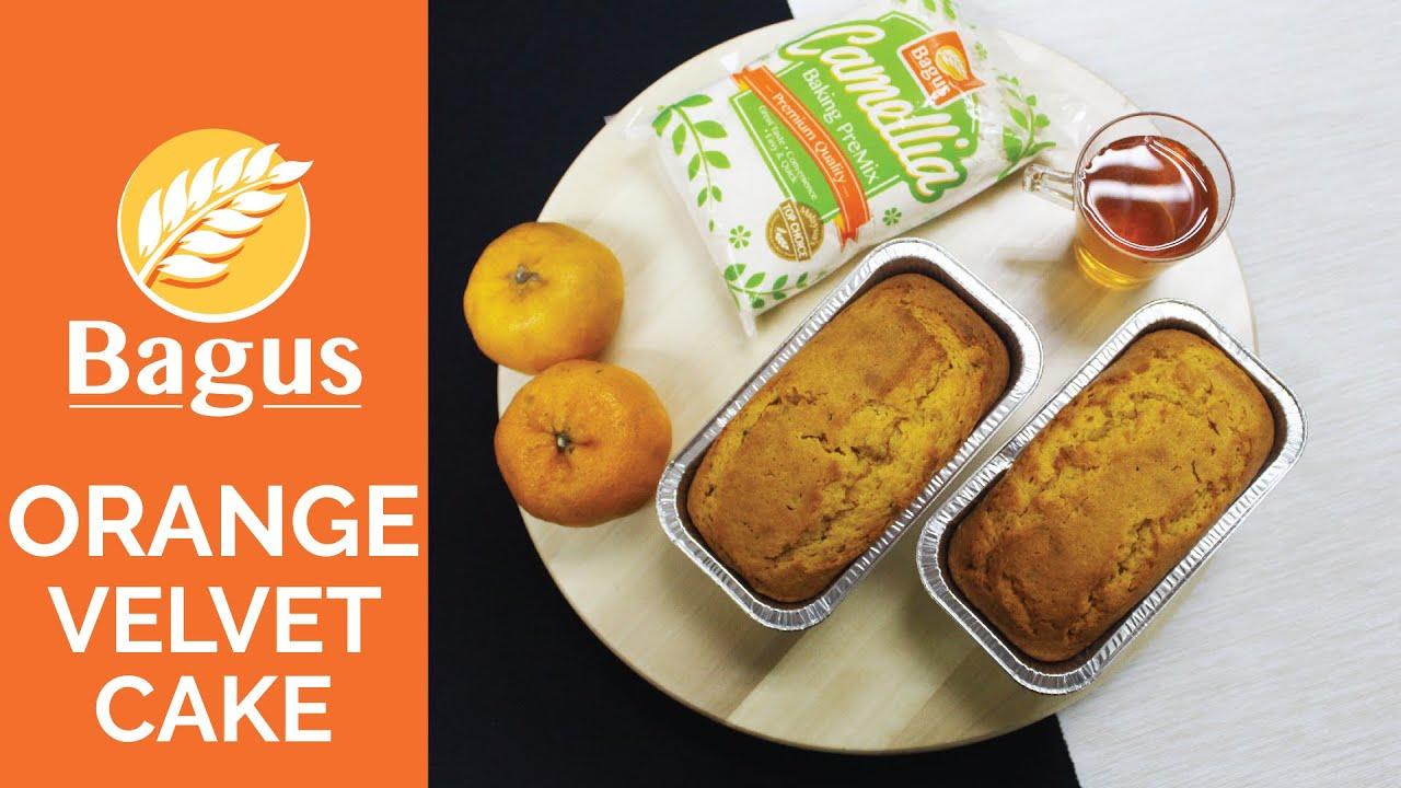 Bagus 1 2 3 Orange Velvet Cake YouTube