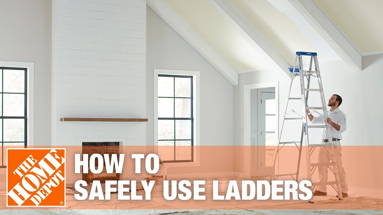 20' Ladder Home Depot Safety Tip For Using Ladders The Home Depot