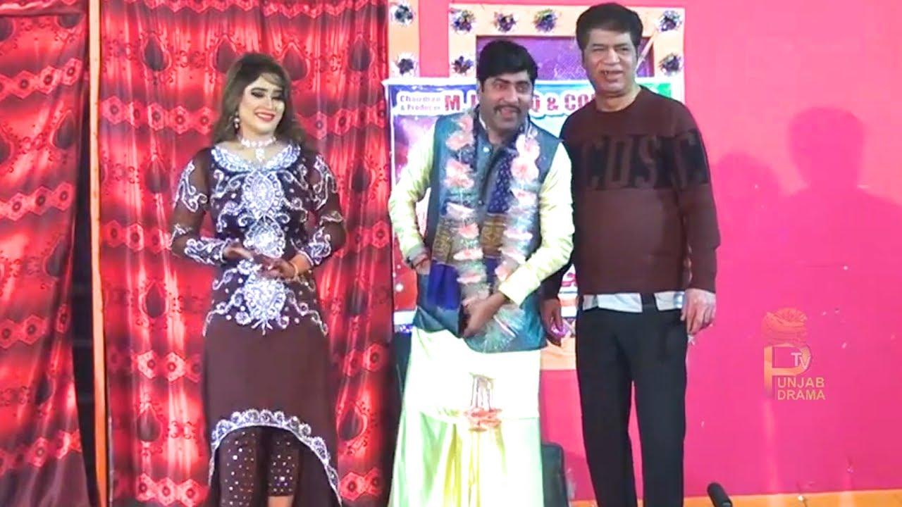 Sajan Abbas and Sheeza   Asif Iqbal Stage Drama Nasha Sajna Da   New Stage Drama 2021