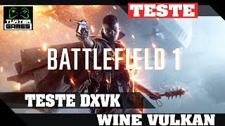 Battlefield 1 (BF1) DXVK // Wine 3.5 Staging via Lutris