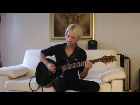 LTD Thinline TL-6: John Rox plays Volteggiare acoustic version (live sound)