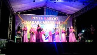 JUARA 1 Qasidah Rebana 2016 lagu CAHAYA DI ATAS CAHAYA Grup Nurul Jadid (vocal Tata UMIK PITIK )