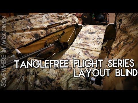 Tanglefree Flight Series Layout Blind Review Unboxing