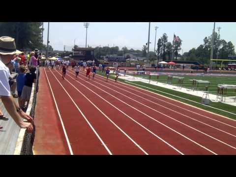 Kevin Barber Magnolia Heights School 100m State Track Meet