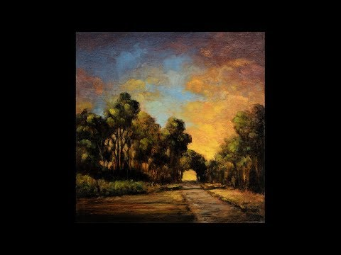 Dawn Path 8×8 Redo Tonalist Landscape Oil Painting Demonstration