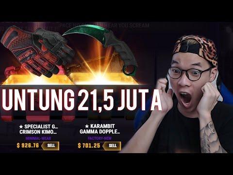 UNTUNG 21,5 JUTA RUPIAH | CS GO Case Opening Indonesia