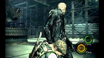 Resident Evil 5 Chris Vs Wesker