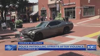 Suspect identified; 1 dead, 19 injured after car plows into Charlottesville, Va. crowd