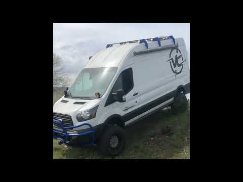 Ford Transit 4x4 conversion test drive - Van Compass