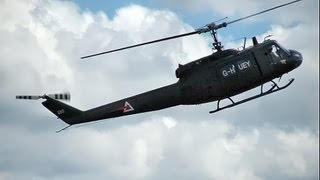 Huey Helicopter Bell UH-1 Awesome Display