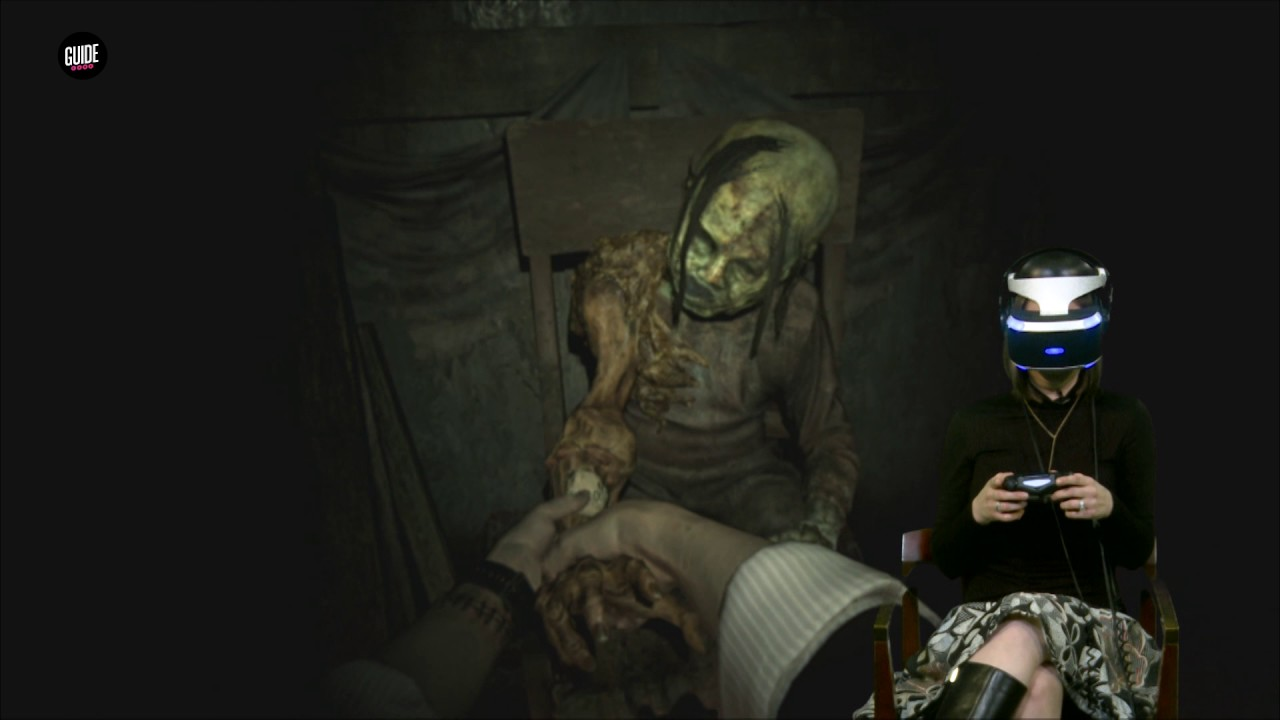How Scary Is Resident Evil 7 In Vr Youtube