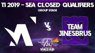 Amplfy vs Jinesbrus - TI9 SEA Regional Qualifiers: Group Stage