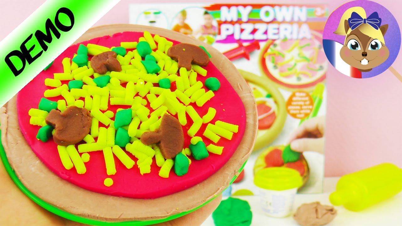 pizza 224 faire soi m 234 me en p 226 te 224 modeler avec le kit my own pizzeria alternative play doh