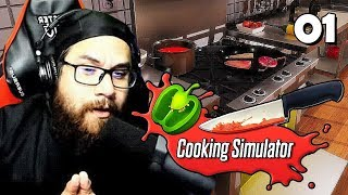 LE CHAOS ABSOLU | Cooking Simulator (01)