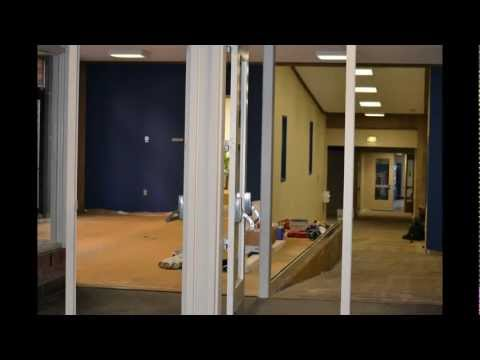 Trinity College (CT) Ferris Lobby Renovation in One Minute