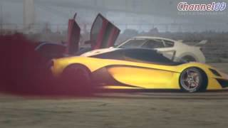 Grand Theft Auto V Online PS4   Exotic Car Meet   Car Show, T20 Test Drive, New Drag Spot & More